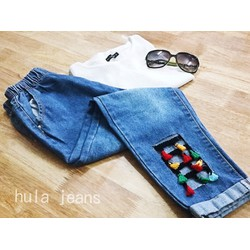 Quần jeans tự thiết kế