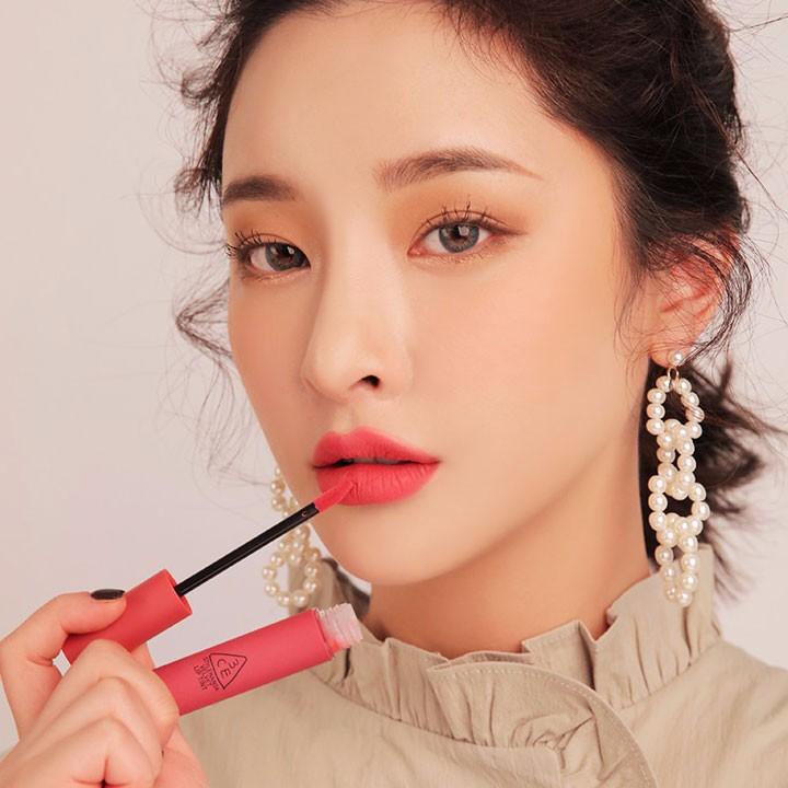 Son 3CE Velvet Lip Tint Pink Break Màu Hồng Đào 9