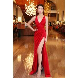 Đầm dạ hội xẻ tà thiết kế tinh tế