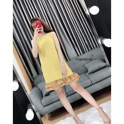 Đầm suông line nhúng bèo sát nách hàng nhập - MS: S290918 Giá sỉ: 125k