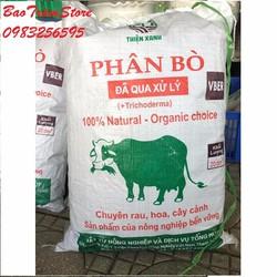 Phân bò sạch đã qua xử lý túi 20 dm3 - 20 lít