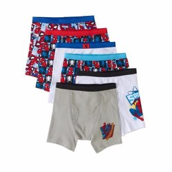 Set 5 quần lót Marvel Spiderman Homecoming Boys Boxer Brief