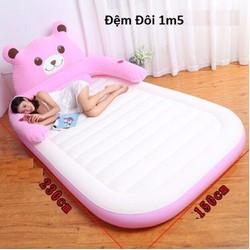 giường hơi hình thú 1m5 x 2m3
