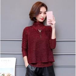 Áo dài tay nữ kiểu Hàn Quốc - giá 350k -MZ579-1