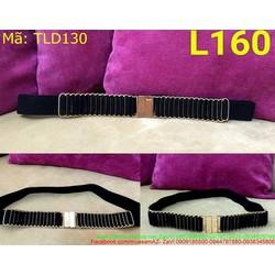 Thắt lưng đầm đan ô mẫu mới sành điệu thời trang TLD130