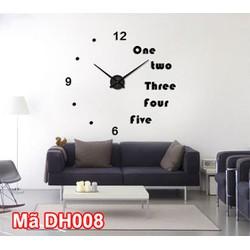 Siêu phẩm đồng hồ hồ treo tường tại Hà Nội giá rẻ mã DH008