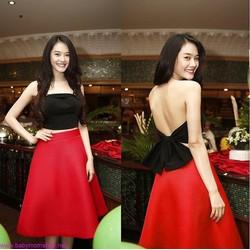 Áo ống Croptop Linh Chi, Thái Hà cực điệu AKN29