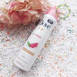 Xịt Khử Mùi Dove Spray Body Mist 150ml