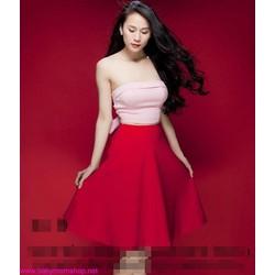 Áo ống cột nơ sexy màu sắc quyến rũ như Thái Hà, Linh Chi AKN252