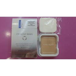 Phấn Nền Estee Lauder Crescent White Brightening Powder Makeup SPF25