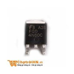 5 con MOSFET 4N60 TO-252 4A 600V N-CH