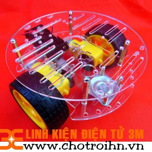 Khung Xe Robot Đa Hướng 4 Bánh V2  Khung Tròn - 4942710 , 7205076 , 15_7205076 , 130000 , Khung-Xe-Robot-Da-Huong-4-Banh-V2-Khung-Tron-15_7205076 , sendo.vn , Khung Xe Robot Đa Hướng 4 Bánh V2  Khung Tròn