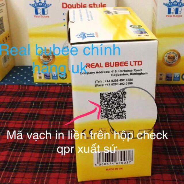 Máy hút sữa điện đôi Real Bubee UK 2