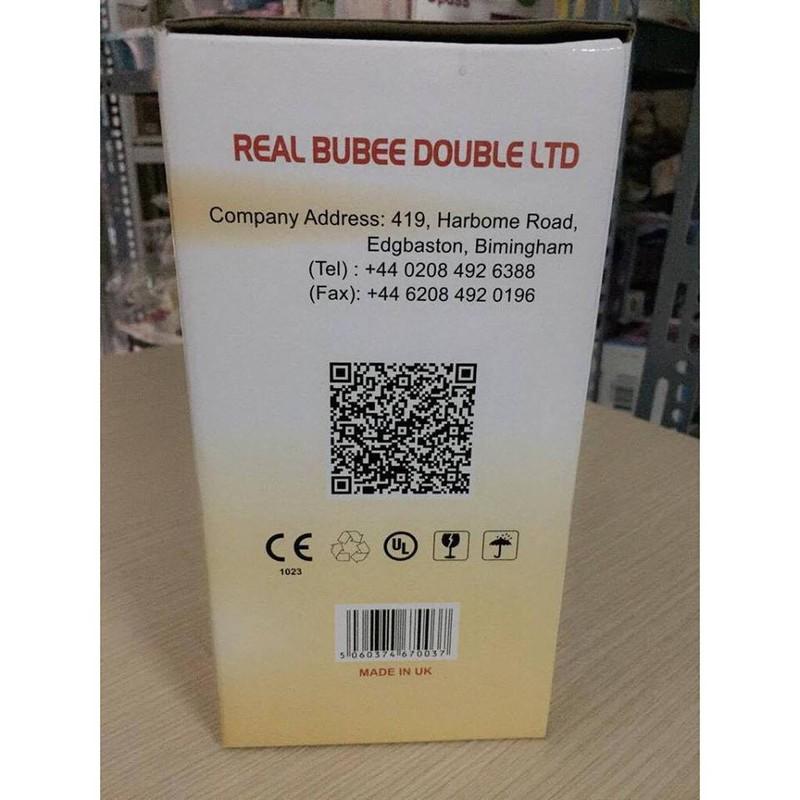 Máy hút sữa điện đôi Real Bubee UK 4