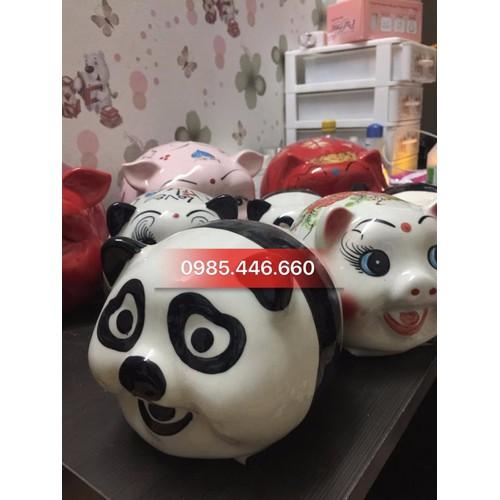 Heo tiết kiệm tiền Bát Tràng Gấu Trúc Panda size to