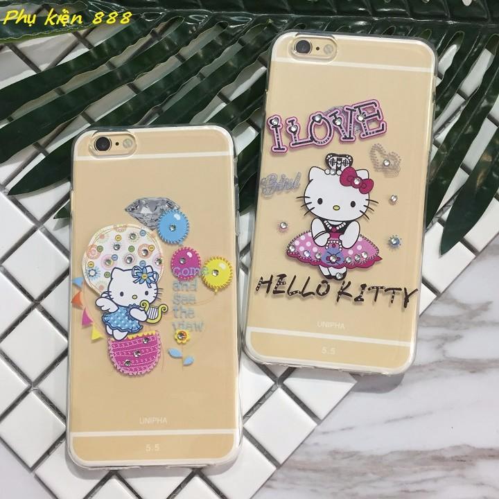 Ốp lưng silicon Iphoen 6p Hello Kitty 5