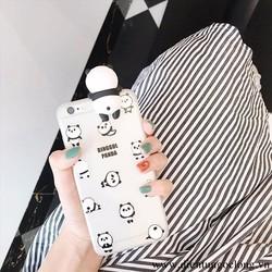 Ốp Lưng Iphone 6 6s Gấu Panda Cute Silicon