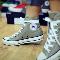 Giày Sneaker CV Classic ghi cao cổ hàng VNXK nữ