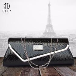Túi xách Clutch nữ thời trang cao cấp ELLY – EL23 đen