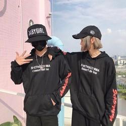 Áo khoát nỉ hoodie thời trang Nam nữ kiểu dáng sành điệu