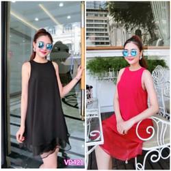 Đầm suông ren laigiống Bạch NguyễnVD421 - V145