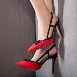 giày cao gót đỏ quyến rũ