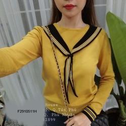 Áo ken cột dây khăn tay dài hàng nhập! MS: S291051 Giá sỉ: 115k