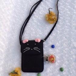 Túi Đeo Chéo Đựng Điện Thoại Hình Mèo MS0702