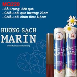Hương sạch MARIN cao cấp 220 Que-Ống dành cho chung cư