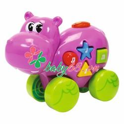 Đồ chơi xe đẩy hình thú có phát nhạc Simba toys 4011610