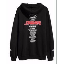 Áo khoát nỉ hoodie thời trang Nam kiểu dáng sành điệu