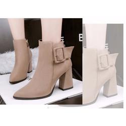 Giày Boot nữ thời trang cá tính B093N