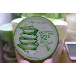 Gel dưỡng lô hội Aloe Vera 92 nhiều công dụng làm đẹp Natural repulic