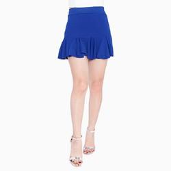 Chân váy đuôi cá màu xanh