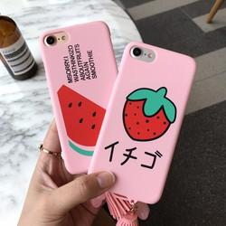 Ốp lưng Nhật bản phiên bản Dâu Tây đáng yêu, cao cấp iphone 4.7 case