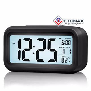 Đồng hồ báo thức cảm biến phát sáng trong đêm - DHBTCBAS1 thumbnail