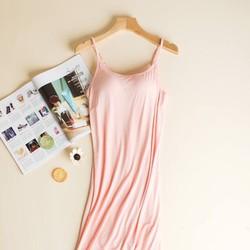 Đầm Váy thun cúp ngực xuất Nhật