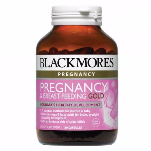 Viên uống Blackmores Pregnancy and Breastfeeding Gold - 60 viên