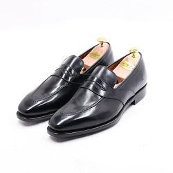 GIÀY TÂY PENNY LOAFER  BLACK  Leather Rubber