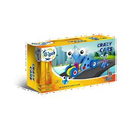 Bộ Gigo toys Xe đẩy tí hon 3 chủ đề 14 miếng ghép nhiều màu 7262