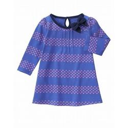 Áo bé gái chất liệu thun cotton