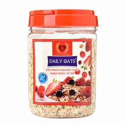 Bột yến mạch Daily Oats 500gr nguyên chất từ Mỹ