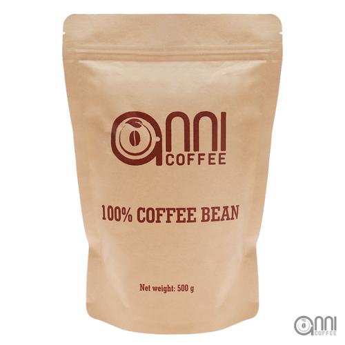 Cà phê hạt nguyên chất - Cà phê sữa Anni 500g - tỉ lệ 3:7