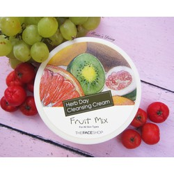 Kem Tẩy Trang The Face Shop Herb Day 365 -Mixed Fruit 150ml