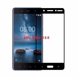 Miếng dán kính cường lực Nokia 8 Full màn Glass