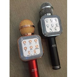 Micro Karaoke Kèm Loa Bluetooth WSTER WS-1818 Cực Hay