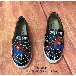 Giày Lười Người Nhện Spider Man Phong Cách Cho Bé Trai 2 - 7 Tuổi GA41