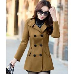 Áo Khoác Dạ Nữ thời trang Phong cách