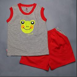 Quần áo trẻ em - đồ bộ bé trai sát nách