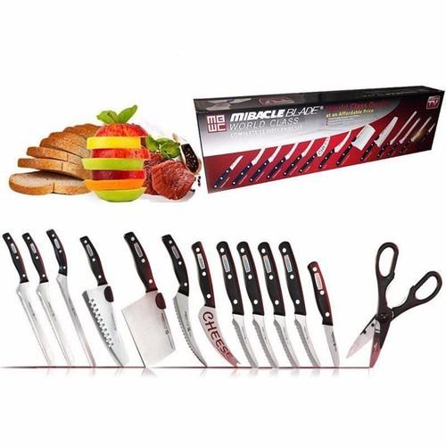Bộ dao kéo đa năng 13 món mibacle blade